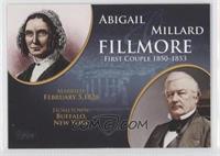 Abigail and Millard Fillmore