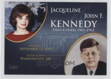 2008 Topps Updates & Highlights First Couples #FC-33 - Jacqueline and John F. Kennedy