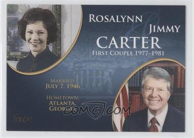 2008 Topps Updates & Highlights First Couples #FC-37 - Rosalynn and Jimmy Carter