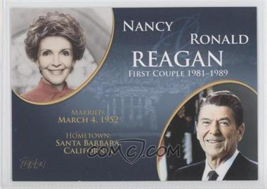 2008 Topps Updates & Highlights First Couples #FC-38 - Nancy and Ronald Reagan