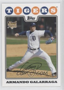 2008 Topps Updates & Highlights #UH153 - Armando Galarraga