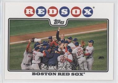 2008 Topps #234 - Boston Red Sox Team