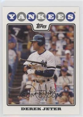 2008 Topps #455 - Derek Jeter