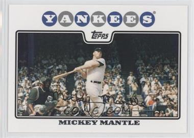2008 Topps #7 - Mickey Mantle