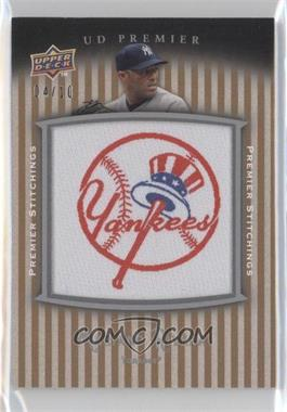 2008 UD Premier - Premier Stitchings - Parallel 2 #PSTI-RI - Mariano Rivera /10