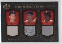 Carl Yastrzemski, Stan Musial, Rod Carew /33