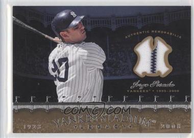 2008 Upper Deck - Multi-Product Insert Yankee Stadium Legacy Memorabilia #YSM-PO - Jorge Posada