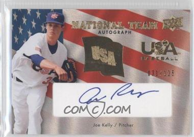2008 Upper Deck - USA Baseball National Team - Blue Ink Autographs [Autographed] #USA-JK - Joe Kelly /125