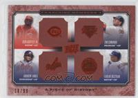 Ken Griffey Jr., Jim Edmonds, Andruw Jones, Carlos Beltran /99