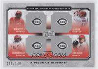 Ken Griffey Jr., Adam Dunn, Brandon Phillips, Aaron Harang /149