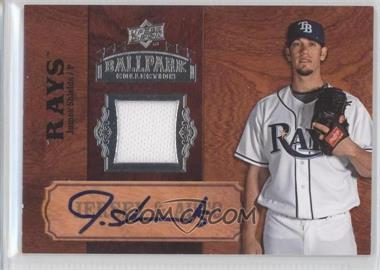 2008 Upper Deck Ballpark Collection - Jersey & Auto #SA-76 - James Shields