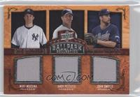 Mike Mussina, Andy Pettitte, John Smoltz, Randy Johnson, Roy Halladay, Tom Glav…