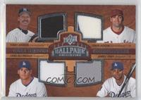 Randy Johnson, Conor Jackson, Chad Billingsley, James Loney