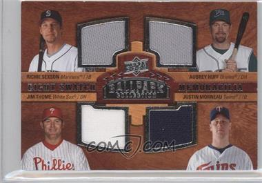 2008 Upper Deck Ballpark Collection #NoN - Richie Sexson, Aubrey Huff, Jim Thome, Casey Kotchman, Jason Giambi, Frank Thomas, David Ortiz, Justin Morneau