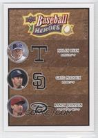 Nolan Ryan, Greg Maddux, Randy Johnson /149