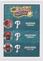 Chase Utley, Ryan Howard, Jimmy Rollins /99