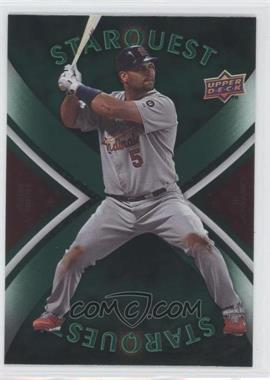 2008 Upper Deck First Edition Starquest Common #SQ-32 - Albert Pujols