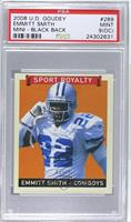 Emmitt Smith /34 [PSA 9 (OC)]