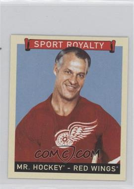 2008 Upper Deck Goudey - [Base] - Mini Blue Back #293 - Gordie Howe