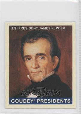2008 Upper Deck Goudey - [Base] - Mini Red Back #246 - James K. Polk
