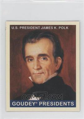 2008 Upper Deck Goudey Mini Blue Back #246 - James K. Polk