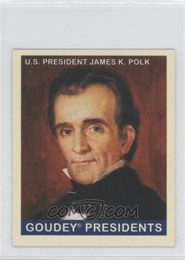 2008 Upper Deck Goudey Mini Green Back #246 - James K. Polk /88