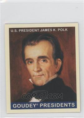 2008 Upper Deck Goudey Mini Red Back #246 - James K. Polk