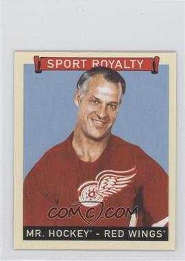 2008 Upper Deck Goudey Mini Red Back #293 - Mr. Hockey (Gordie Howe)