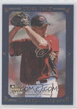 2008 Upper Deck Masterpieces - [Base] - Blue Paper Framed #5 - Max Scherzer /50