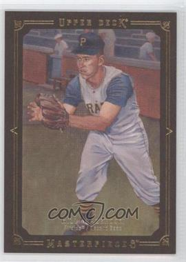 2008 Upper Deck Masterpieces Brown Paper Framed #72 - Bill Mazeroski /100