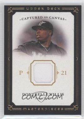 2008 Upper Deck Masterpieces Captured on Canvas #CC-DW - Dontrelle Willis