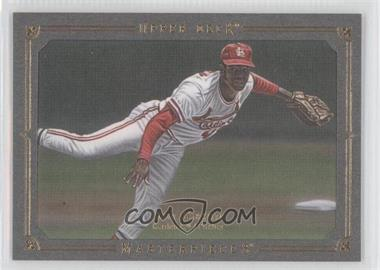 2008 Upper Deck Masterpieces Silver Paper Framed #118 - Bob Gibson /25