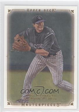 2008 Upper Deck Masterpieces #29 - Troy Tulowitzki