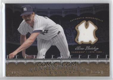 2008 Upper Deck Multi-Product Insert Yankee Stadium Legacy Memorabilia #YSM-RG - Ron Guidry