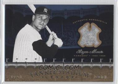 2008 Upper Deck Multi-Product Insert Yankee Stadium Legacy Memorabilia #YSM-RM - Roger Maris