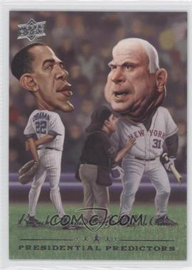2008 Upper Deck Presidential Predictors Runningmates #PP-14 - Barack Obama, John McCain