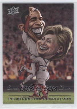 2008 Upper Deck Presidential Predictors Runningmates #PP-7B - Barack Obama, Hillary Clinton