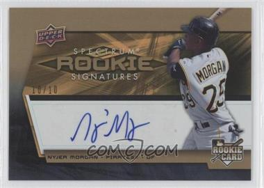 2008 Upper Deck Spectrum Gold #135 - Nyjer Morgan /10