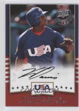 2008 Upper Deck Timeline - USA Baseball Signatures #USA-KD - Kentrail Davis