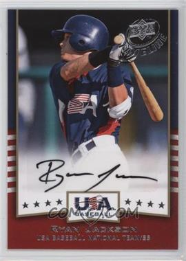 2008 Upper Deck Timeline - USA Baseball Signatures #USA-RJ - Ryan Jackson