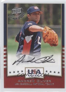 2008 Upper Deck Timeline USA Baseball Signatures #USA-AO - Andrew Oliver