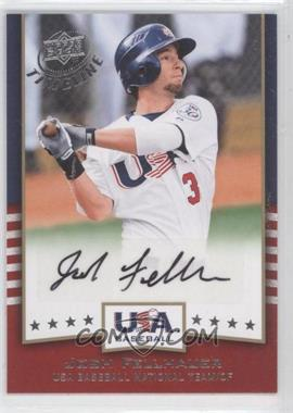 2008 Upper Deck Timeline USA Baseball Signatures #USA-JF - Josh Fellhauer