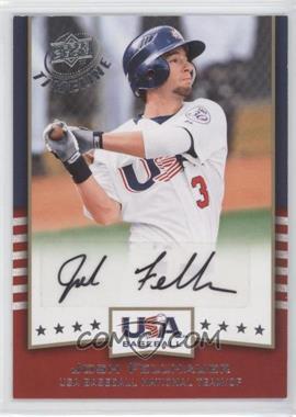 2008 Upper Deck Timeline USA Baseball Signatures #USA-JF - Josh Fellhauer