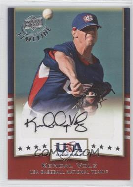 2008 Upper Deck Timeline USA Baseball Signatures #USA-KV - Kendal Volz
