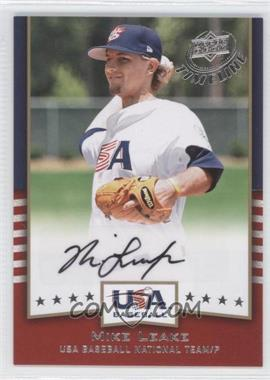 2008 Upper Deck Timeline USA Baseball Signatures #USA-ML - Mike Leake