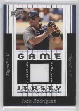 2008 Upper Deck UD Game Jersey 1997 Throwback #97-IR - Ivan Rodriguez