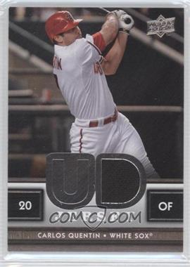 2008 Upper Deck UD Game Jersey Series 2 #UDJ-CQ - Carlos Quentin