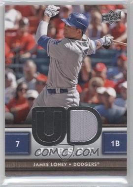 2008 Upper Deck UD Game Jersey Series 2 #UDJ-JL - James Loney