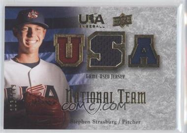 2008 Upper Deck USA Baseball Teams [???] #NT-SS - Stephen Strasburg /149