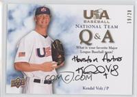 Kendal Volz (Favorite Team) /20